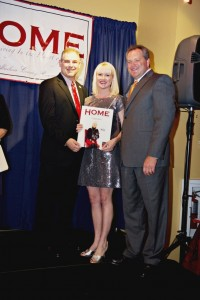 Receiving Forty under 40 award