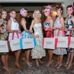 models and bags