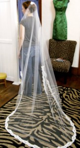 Custom Bridal Veil Design 1