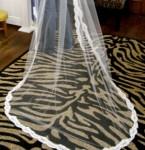 Custom Bridal Veil Design 1