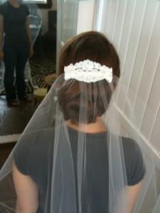 Custom Bridal Veil Design 2